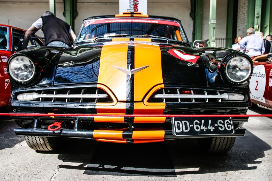 tour auto 2017 les plus belles voitures engag es studebaker coup champion 1954 l 39 argus. Black Bedroom Furniture Sets. Home Design Ideas