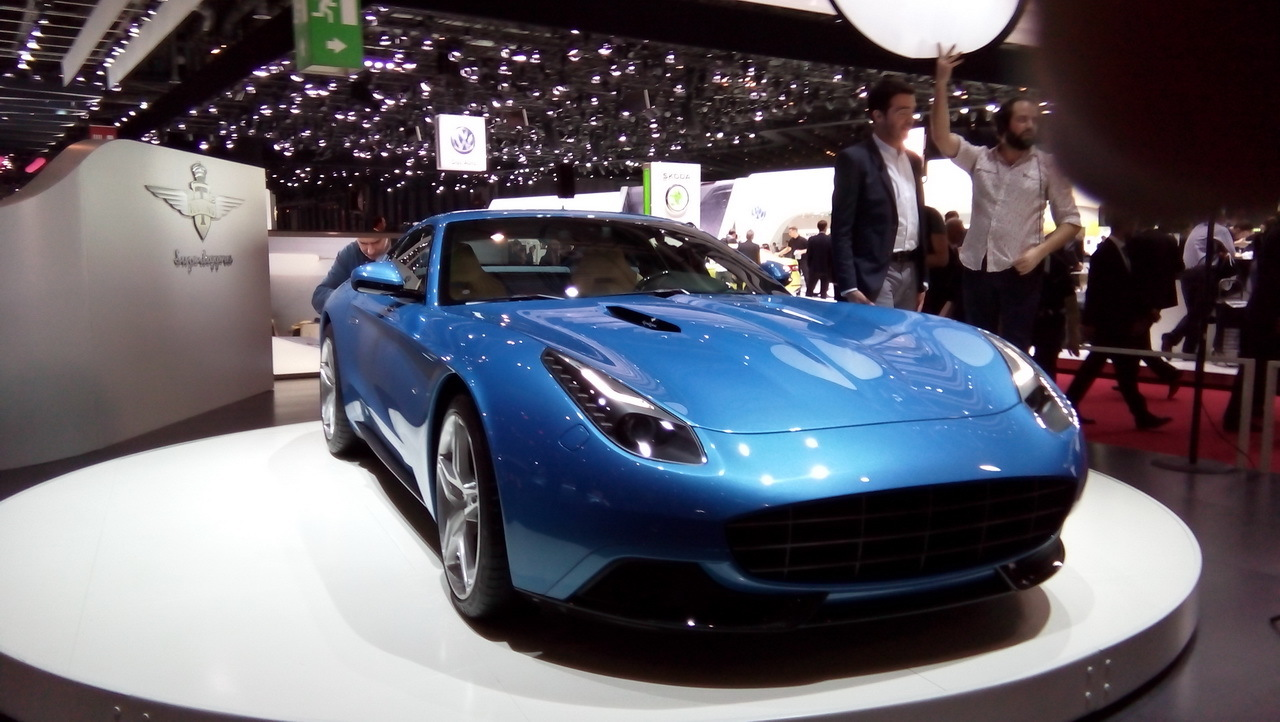 Gen ve 2015 touring supperleggera berlinetta lusso - Geneve 2015 salon ...