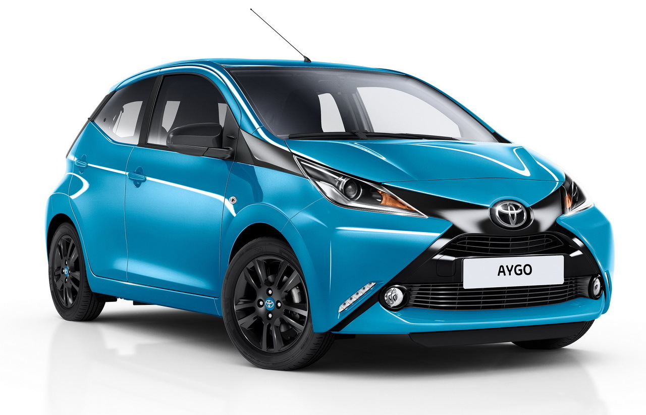 toyota aygo 2015 nouvelle finition x cite bleu cyan photo 1 l 39 argus. Black Bedroom Furniture Sets. Home Design Ideas