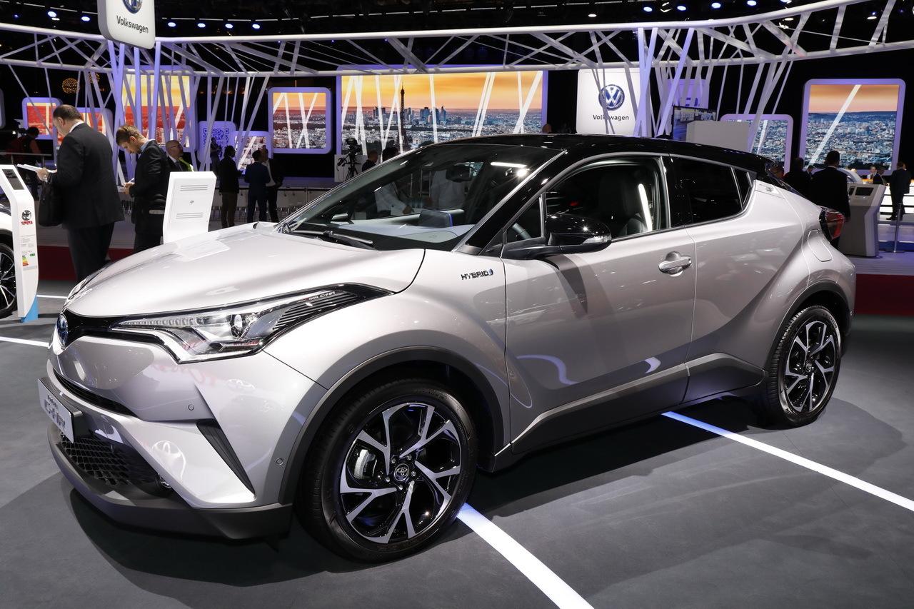 Le Toyota C-HR face à ses rivaux - L'argus