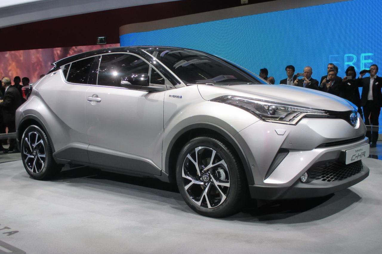Toyota C Hr Le Nouveau Suv Toyota Fait Forte Impression 224 Gen 232 Ve Photo 6 L Argus