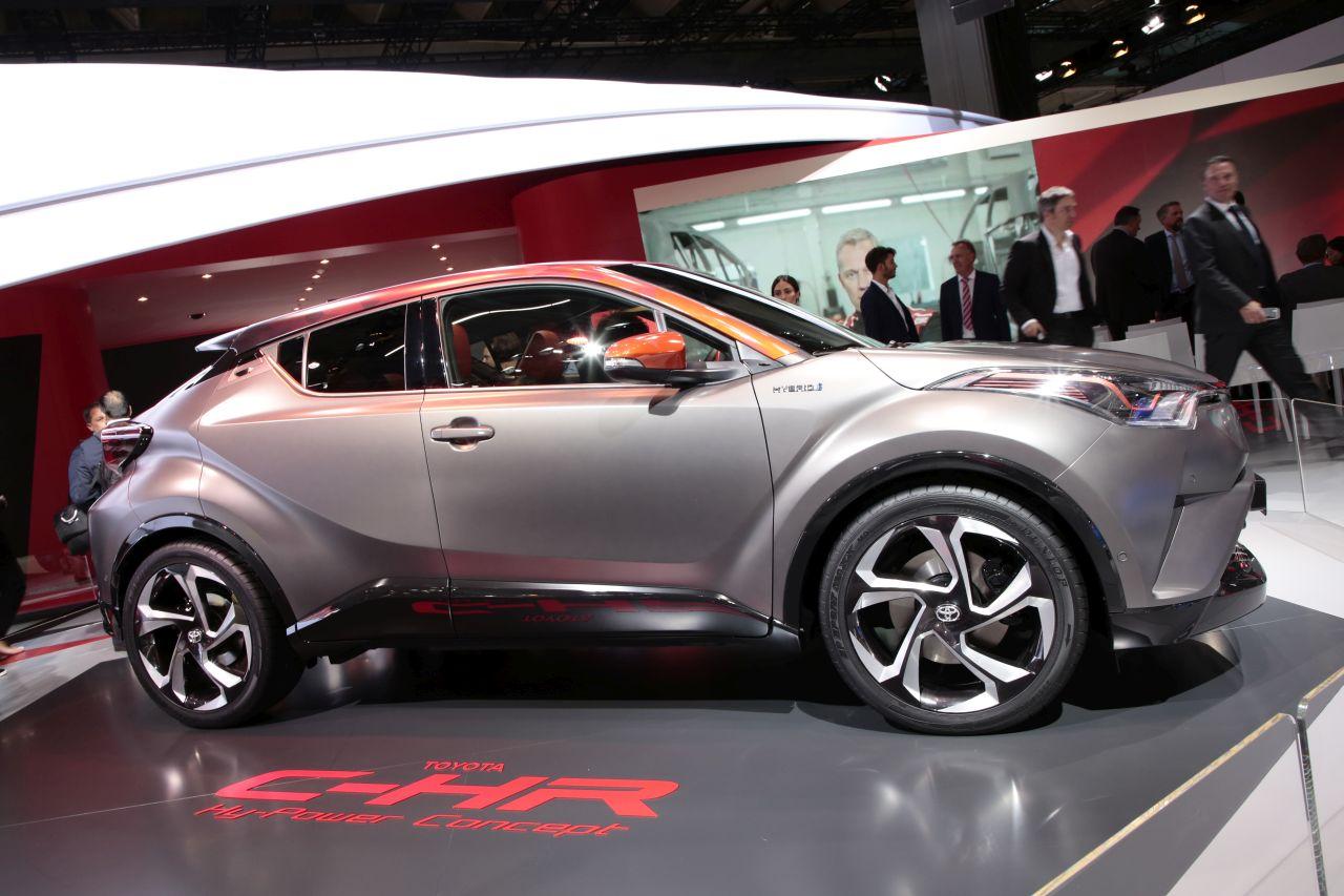 Toyota C Hr Hy Power Un C Hr Hybride Plus Puissant Pour