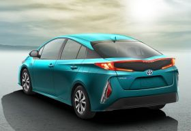 Toyota Prius Hybride Rechargeable arrière