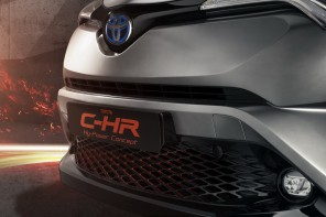 Concept Toyota CH-R Hy-Power calandre salon Francfort 2017