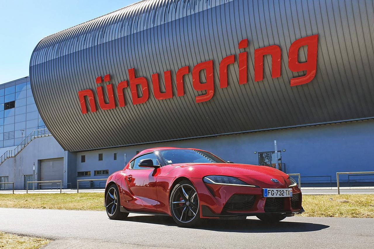 NürburgringL'argus À Essai ExtrêmeLa Supra L'assaut Toyota Du E29DHI