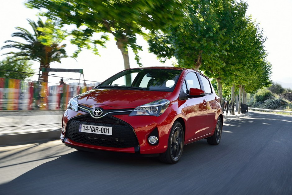 essai toyota yaris 100h hybride 2014 une mise jour salutaire photo 21 l 39 argus. Black Bedroom Furniture Sets. Home Design Ideas