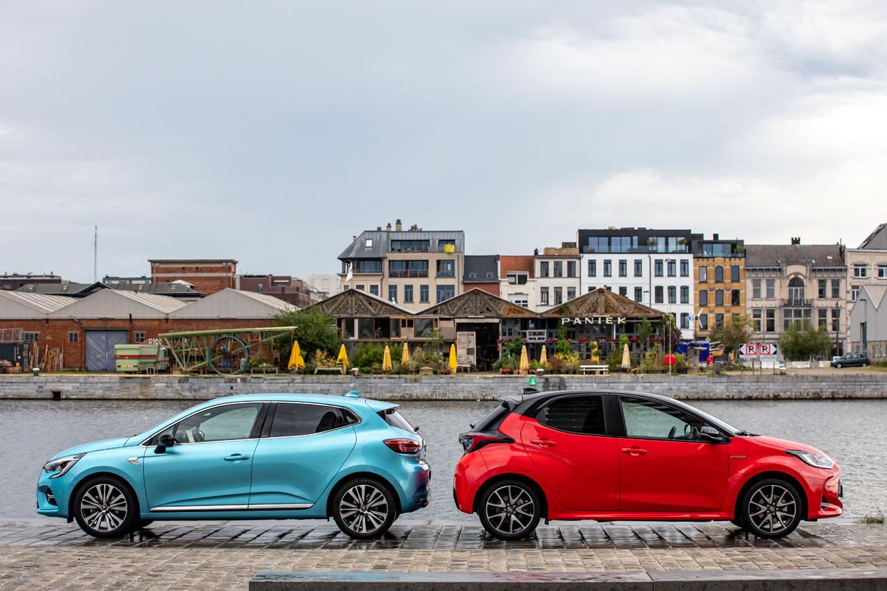 2019 - [Renault] Clio V (BJA) Toyota-yaris-vs-renault-clio-hybride-2
