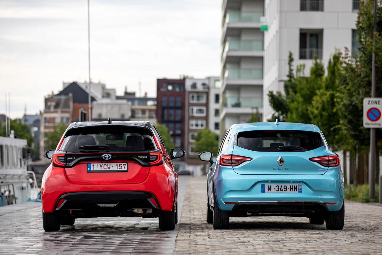 2019 - [Renault] Clio V (BJA) Toyota-yaris-vs-renault-clio-hybride-3