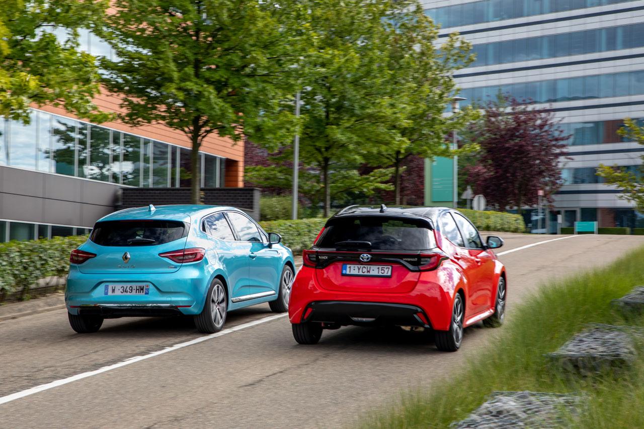 2019 - [Renault] Clio V (BJA) Toyota-yaris-vs-renault-clio-hybride-5