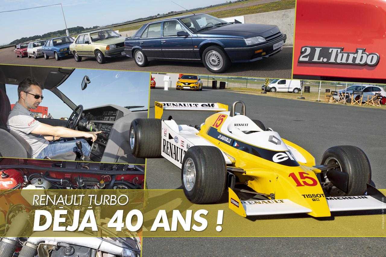 Renault : retour sur les années turbo en images