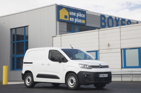 The Berlingo van Utility lu Utility from 2019. It is the third title of the brand in the palmarà ©.