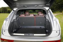DS7 Crossback coffre ouvert