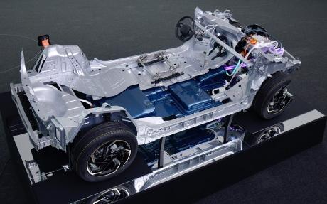 Electric e-CMP Peugeot 208 platform
