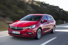 Opel Astra Sports Tourer 2016 1.6 CDTi 160 BiTurbo : Action travelling AVG serré
