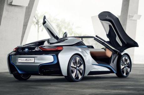 bmw i8 concept spyder l 39 i8 bient t en cabriolet l 39 argus. Black Bedroom Furniture Sets. Home Design Ideas