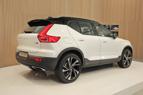 le nouveau suv volvo xc40 face ses concurrents l 39 argus. Black Bedroom Furniture Sets. Home Design Ideas