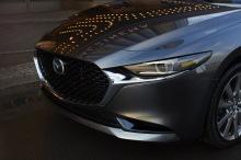 new Mazda3 2019 gray sedan