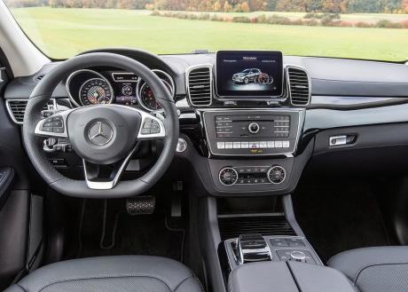Mercedes Gle Interieur : mercedes gle amg 2015 367 ch pour le gle 450 amg sport l 39 argus ~ Medecine-chirurgie-esthetiques.com Avis de Voitures