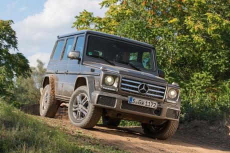 Mercedes dévoile l'intérieur — Nouveau Classe G