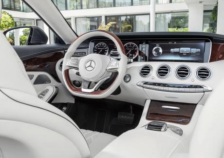 Prix mercedes classe s cabriolet des tarifs partir de for Classe e interieur 2016