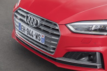 audi s5 coupé 2017 rouge face avant