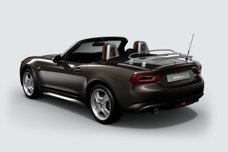 fiat 124 spider america une s rie limit e 50 exemplaires l 39 argus. Black Bedroom Furniture Sets. Home Design Ideas
