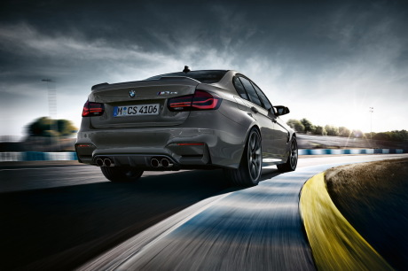 La BMW M3 CS prend vie — Vidéo