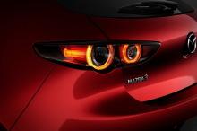 Mazda 3 2019 taillights