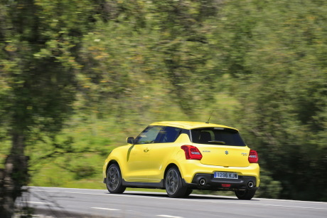 suzuki swift sport 2018 champion yellow