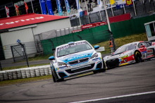 308 Racing Cup Team Altran 24H Nurburgring 2018 action de face