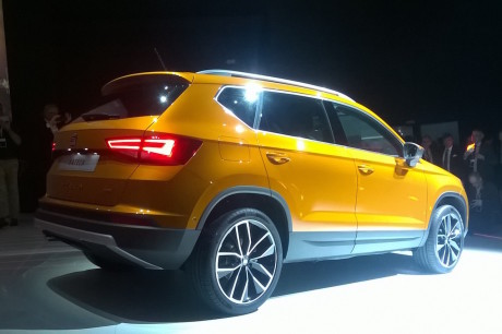 3/4 arriere seat ateca SUV