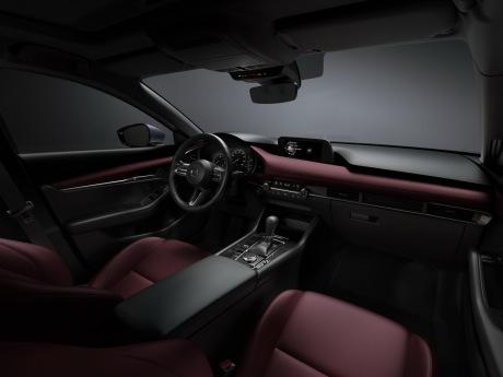 new Mazda3 2019 passenger compartment