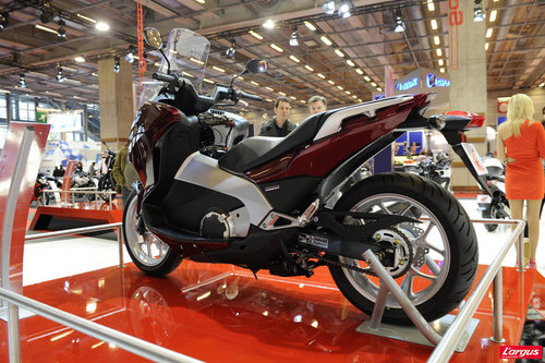 salon de la moto 2011 honda integra l 39 argus. Black Bedroom Furniture Sets. Home Design Ideas