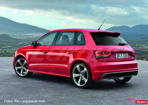 audi a1 la version sportback pour 2012 l 39 argus. Black Bedroom Furniture Sets. Home Design Ideas
