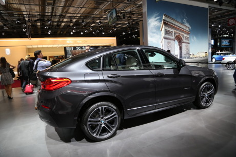 mondial auto 2014 bmw x4 l 39 argus. Black Bedroom Furniture Sets. Home Design Ideas