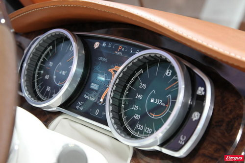 Bentley EXP 9 F Un SUV chez Bentley...