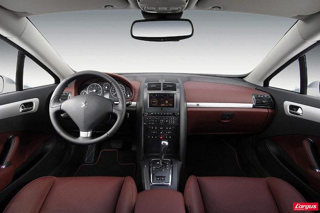 Peugeot 407 coupe au volant - Fiche technique peugeot 407 coupe 2 7 v6 hdi ...
