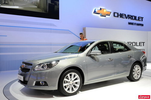 Chevrolet Malibu Elle arrive en Europe