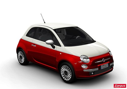 fiat 500 bi color nouvelle collection l 39 argus. Black Bedroom Furniture Sets. Home Design Ideas