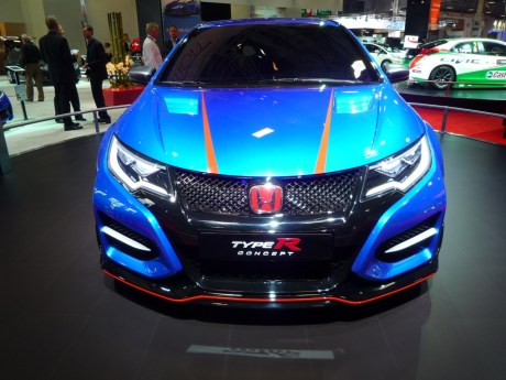 mondial auto honda d voile un nouveau concept de la civic type r l 39 argus. Black Bedroom Furniture Sets. Home Design Ideas
