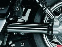 Honda VT-Shadow Custom à l' américaine
