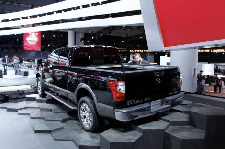 detroit 2015 nouveau pick up nissan titan l 39 argus. Black Bedroom Furniture Sets. Home Design Ideas