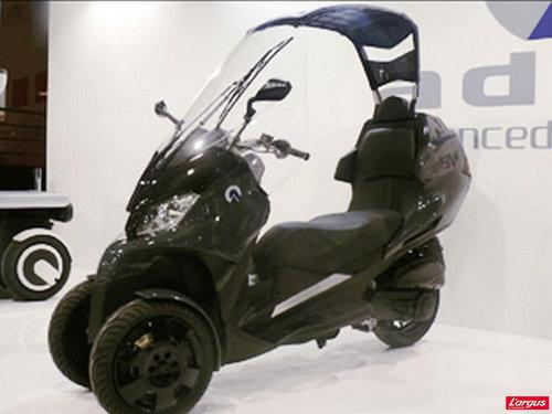 le scooter  u00e0 trois roues adiva ad3 300 bient u00f4t  u00e0 tokyo