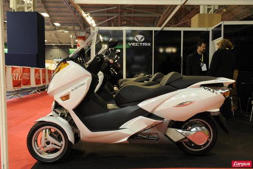 salon de la moto 2011 vectrix vx 3 li l 39 argus. Black Bedroom Furniture Sets. Home Design Ideas