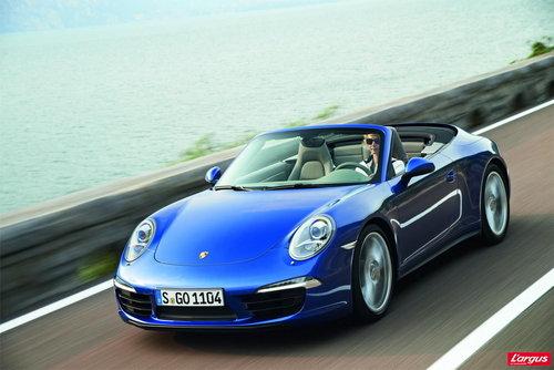 porsche 911 coupe les nouvelles 911 carrera 4 et 4s se d voilent mondial de l 39 auto 2012. Black Bedroom Furniture Sets. Home Design Ideas