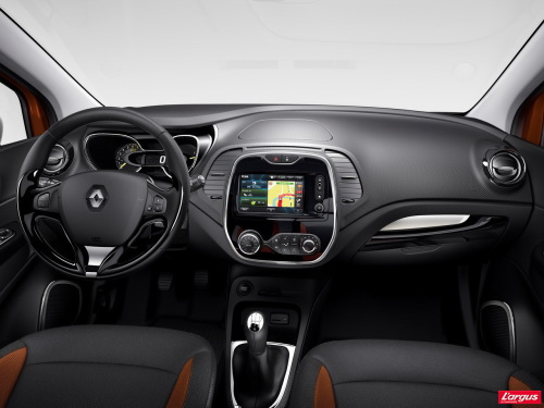 Salon de Gen�ve 2013 Renault Captur La Clio IV en mode � 4x4 �