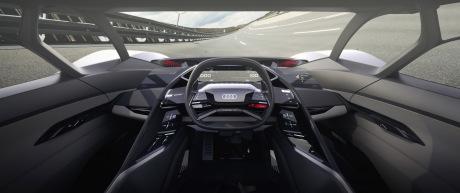 Audi PB18 e-tron interior cockpit single seat