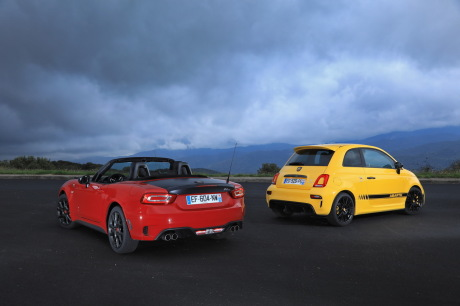 bilan du match abarth 124 spider vs abarth 595 competizione l 39 argus. Black Bedroom Furniture Sets. Home Design Ideas