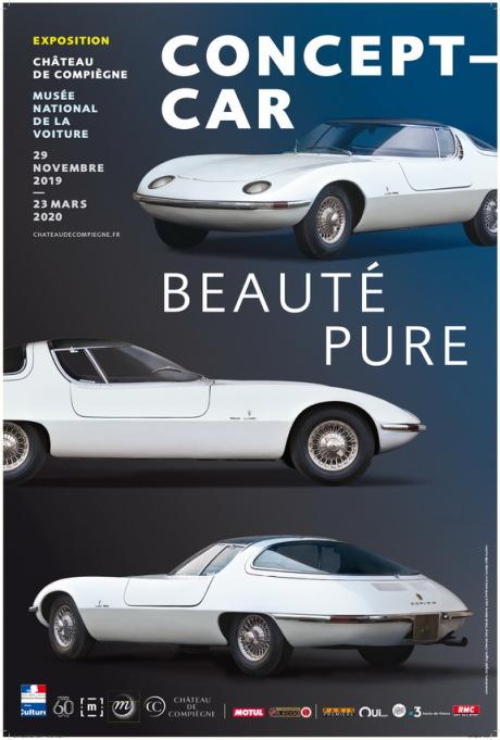 Une exposition de concept-cars au Château de Compiègne