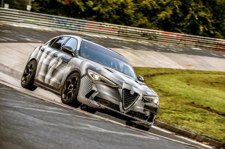 Nürburgring : record pour l'Alfa Romeo Stelvio Quadrifoglio